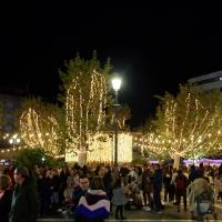 Gran ambiente en Badajoz para recibir a la Navidad