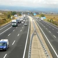 La autopista Burgos - Armiñón queda libre para circular, tras 44 años de peajes