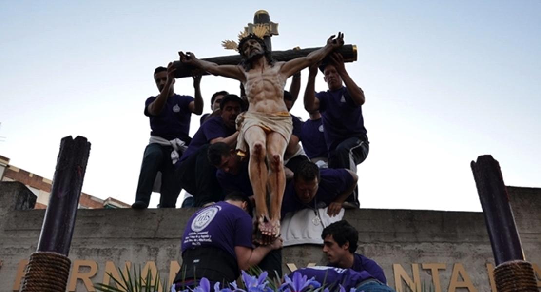 La hermandad del Cristo de la Angustia pasará las andas para recoger alimentos