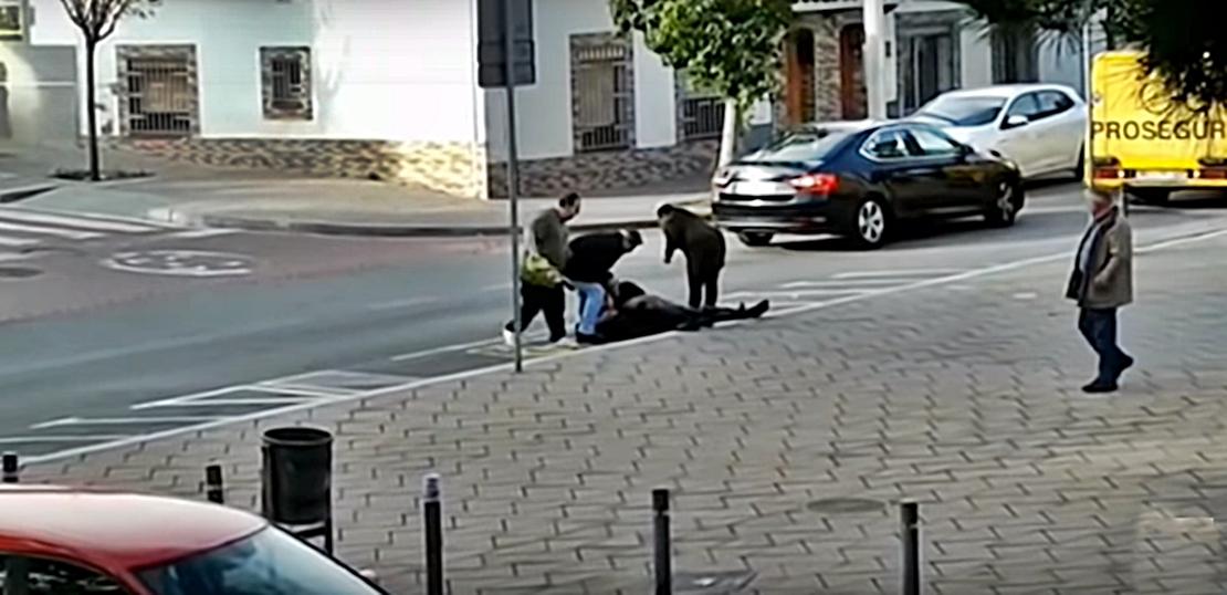La ruptura de una pareja de novios origina un tiroteo con heridos en Barcelona
