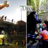 Gran despliegue para rescatar a una persona del arroyo Rivillas en Badajoz