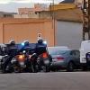 Impresionante operación policial en el Cerro de Reyes