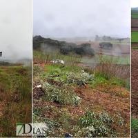 Accidente Olivenza: Salida de vía de 400 metros