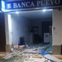 Rompen la fachada de una entidad bancaria en La Morera y se llevan el cajero