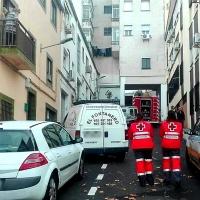 Un joven herido en otro incendio en Cáceres