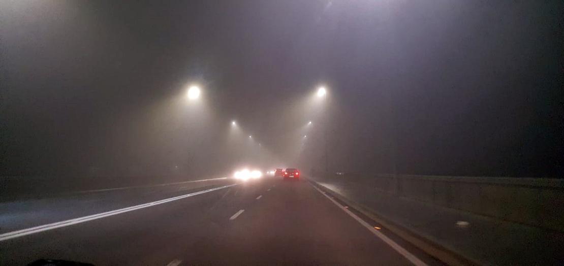 La niebla condiciona la circulación en varias carreteras extremeñas
