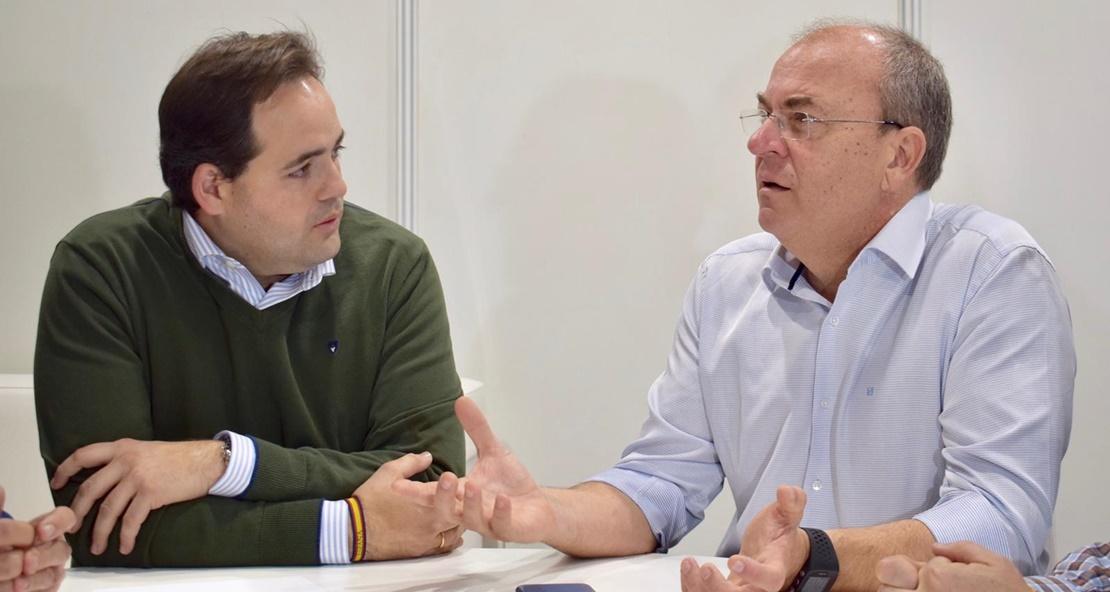 """Monago dice la """"única solución"""" para el tren son elecciones"""