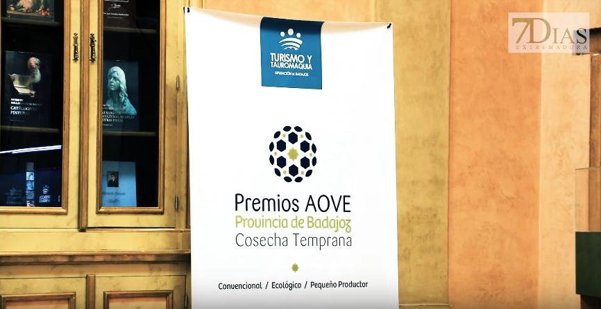 Entrega de premios del concurso de aceites virgen extra de la provincia de Badajoz
