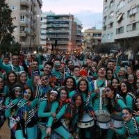 Llamas y pasión en las Candelas de Santa Marina