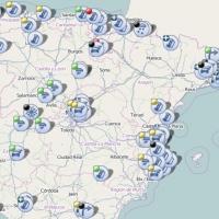 Accidente y retención circulatoria en la autovía A-66 en dirección a Sevilla