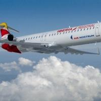 El avión de Madrid llega a Badajoz con 4 horas y media de retraso
