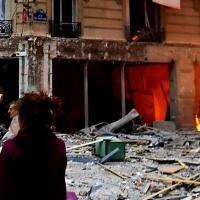Una fuerte explosión en una panadería de París causa numerosos heridos