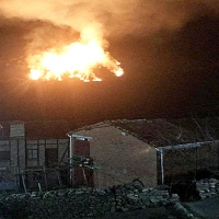 Declarado un incendio forestal en las montañas de La Vera