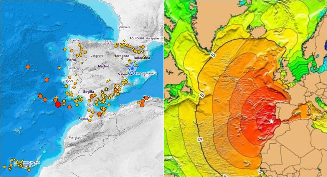 Extremadura, una región en el centro de los terremotos