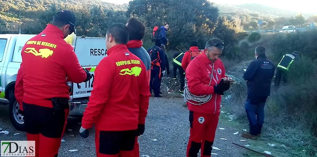 La Asociación de Emergencias quiere seguir buscando a Manuela Chavero
