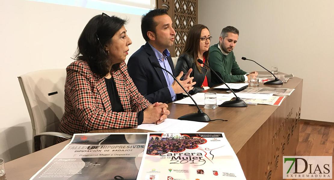 La Diputación de Badajoz apuesta por la mujer y el deporte