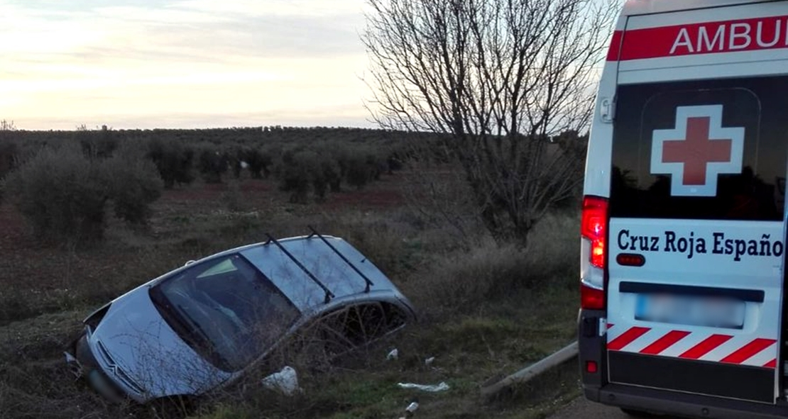 Dos heridos en un accidente en Tierra de Barros