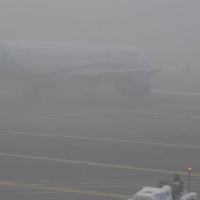 La niebla obliga a cancelar y desviar vuelos en Badajoz