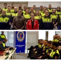 Policías Locales reciben el título de Aptitud Física Policial en Badajoz
