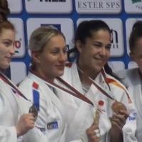 La emeritense Cristina Cabaña consigue el bronce en la Copa de Europa