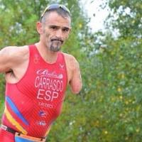El atleta extremeño Kini Carrasco a un paso de volver a competir
