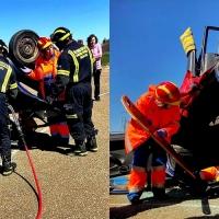 Jornadas para mejorar la atención en sucesos entre bomberos del CPEI y sanitarios