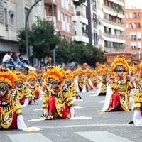 Los Lingotes, vencedores de un desfile de Interés Internacional