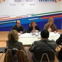 Nogales quiere que el CERMI participe en las decisiones sobre accesibilidad
