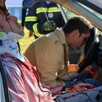 Gran despliegue de medios en el Simulacro Radiológico realizado en Badajoz