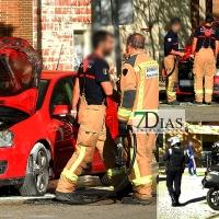 Se incendia un vehículo en Badajoz