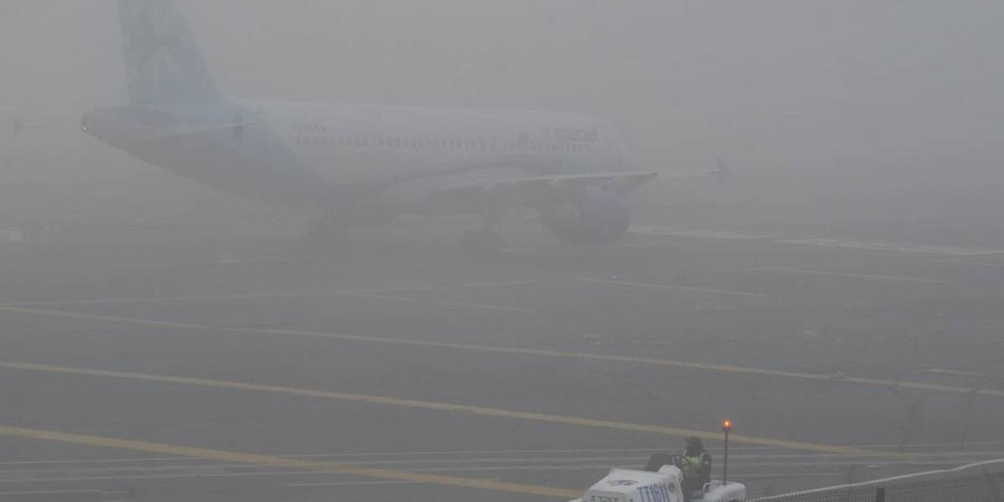 La niebla vuelve a provocar cancelaciones en los vuelos extremeños