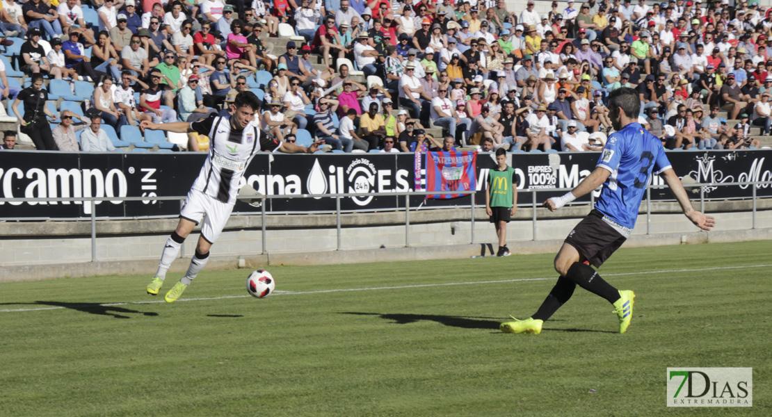 Los resultados obtenidos durante la temporada que darían el pase al CD. Badajoz