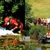 Aparece un cadáver flotando en el río Guadiana