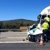 Muere tras sufrir un brutal accidente en la N-432