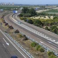 Un vehículo se avería en la A-5 provocando problemas en el tráfico
