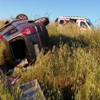 Cuatro heridos en un accidente de tráfico en Mérida