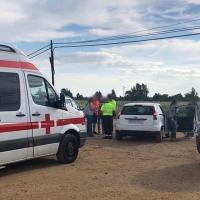 Un niño herido en una colisión múltiple en la Romería de Bótoa