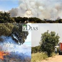 El incendio está descontrolado y alcanza ya Campomanes