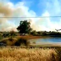 Dos incendios en Extremadura declaran nivel 1 de peligrosidad