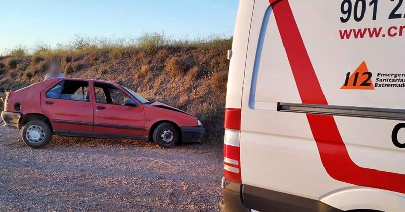 Cuatro heridos, uno de ellos grave, en un accidente de tráfico en Villafranca