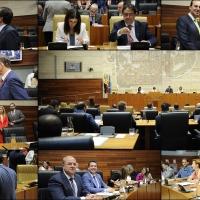 Las diputadas y diputados juran cargo en la recién constituida X legislatura