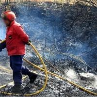 REPOR: Imágenes del incendio en La Raya