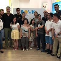 Integrantes de Down Mérida participan en el programa 'Uno a uno: Empléate'