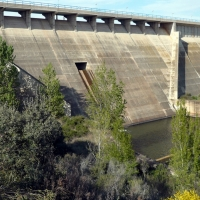Las cuencas del Tajo y del Guadiana continúan bajando
