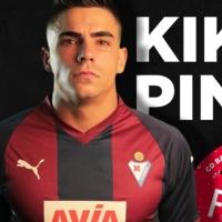 Kike Pina llega como cedido al CD. Badajoz
