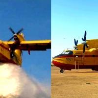 Los aviones apagafuegos vuelven a Extremadura