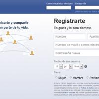 Piden a Facebook 200 euros para cada español registrado en su web