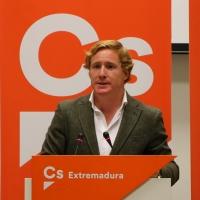 Gragera asegura que Vox no entra en el acuerdo en Badajoz entre PP y Ciudadanos