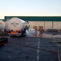 Cortan dos carreteras en la provincia de Cáceres por vertido de gas natural licuado