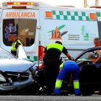 Accidente de tráfico en el polígono El Nevero